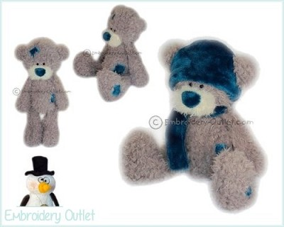 ITH Teddy Patches Winteroutfit