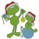 JDS Christmas Frogs