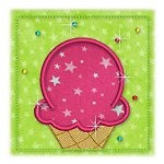 Mug Rug 21 Icecream