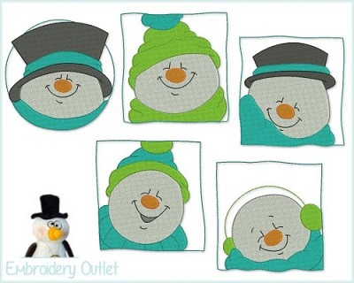 Adorable Snowmen 4