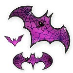 Applique Bats