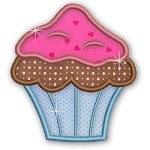 Applique Cupcakes