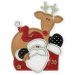 Applique Santa And Friends 2