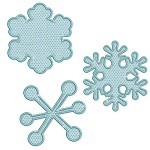 Applique Snowflakes