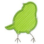 Applique Bird Silhouettes 1