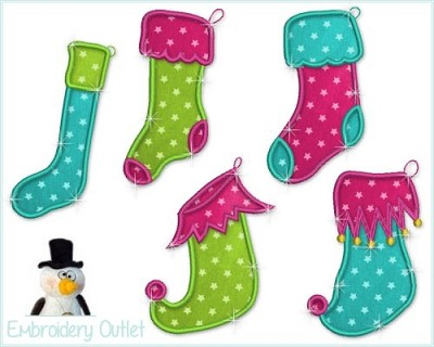 Applique Stockings