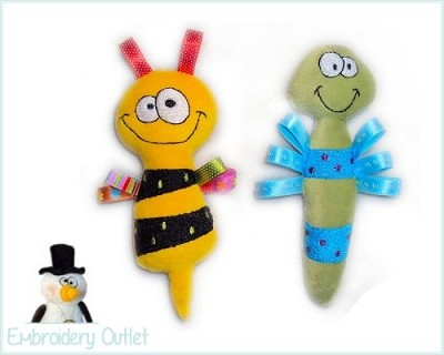 ITH Babytoy Loopy Bugs 1