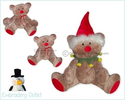 ITH Christmas Teddy