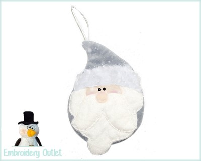 ITH Ornament Santa 2