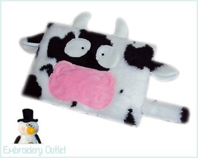 ITH Pillow Cow
