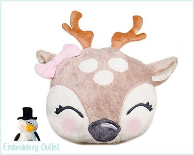 ITH Pillow Deer