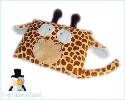 ITH Pillow Giraffe