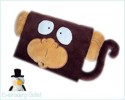 ITH Pillow Monkey