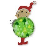 Applique JDS Ornament Elves