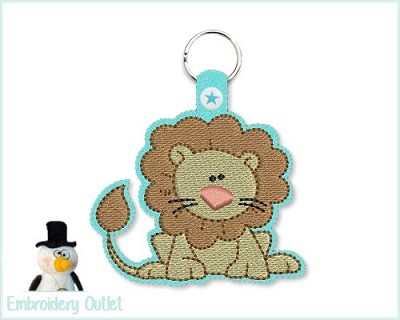 ITH Key Fob 103 Lion