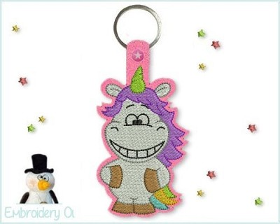 ITH Key Fob 3 Unicorn