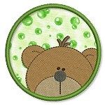 Applique Lenny Bubbles