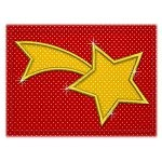 Mug Rug 139 Shooting Star