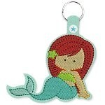 ITH Key Fob 72 Mermaid